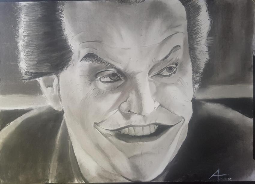 Jack Nicholson by Varoh